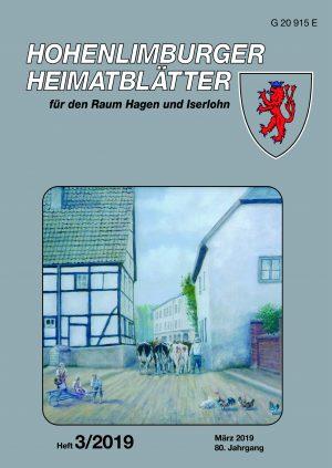 Heimatblätter Heft 3 2019